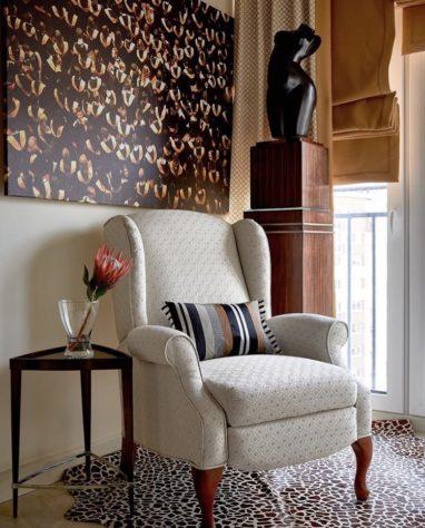 Кресло Hampton с реклайнером фото 6