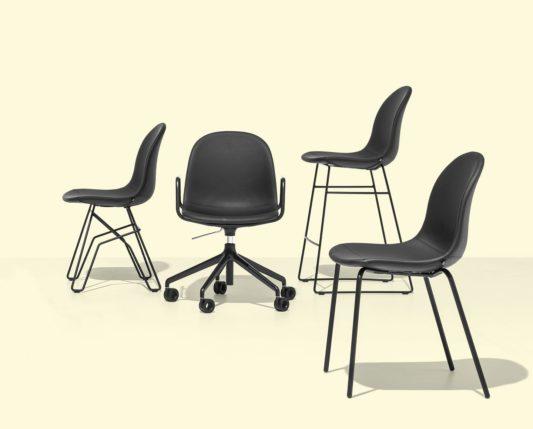 Вращающийся стул Academy CB1911 фото 8