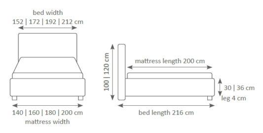 Кровать Premium 33 фото 5