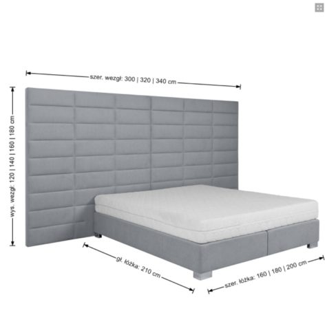 Континентальная кровать 600 фото 7