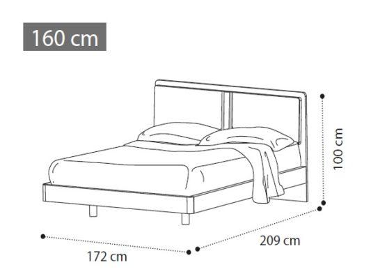 Кровать ALTEA фото 3