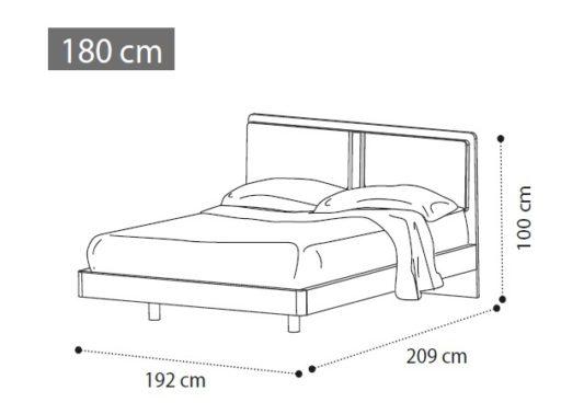 Кровать ALTEA фото 2