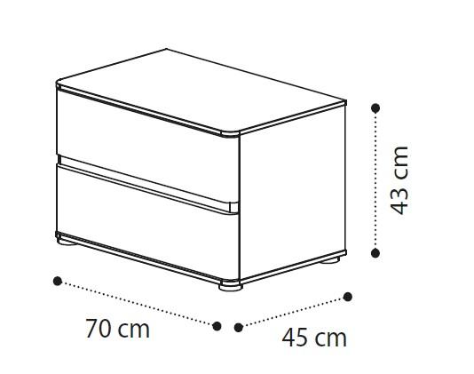 Прикроватная тумба ALTEA mini фото 2