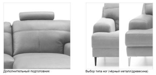 Угловой диван Monday фото 12