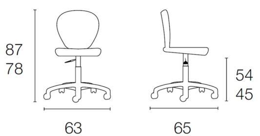 Офисное кресло New York фото 9