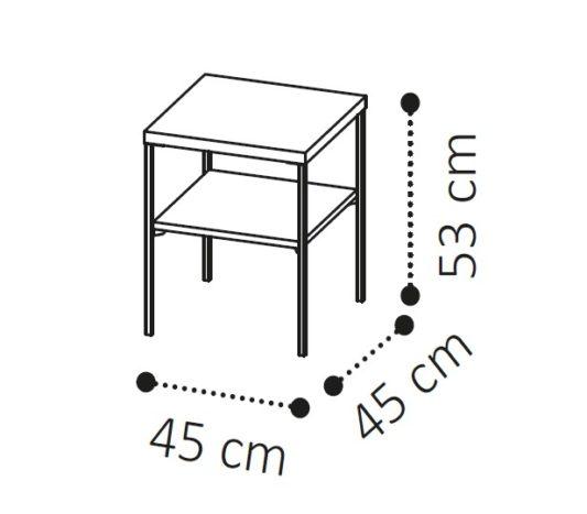 Приставной столик PLATINUM фото 1