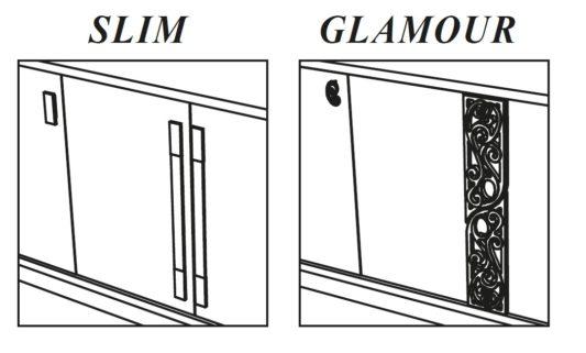 Буфет PLATINUM Slim 3-дверный фото 5