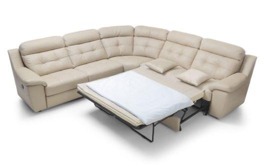 Угловой диван Toledo с электрореклайнером фото 6