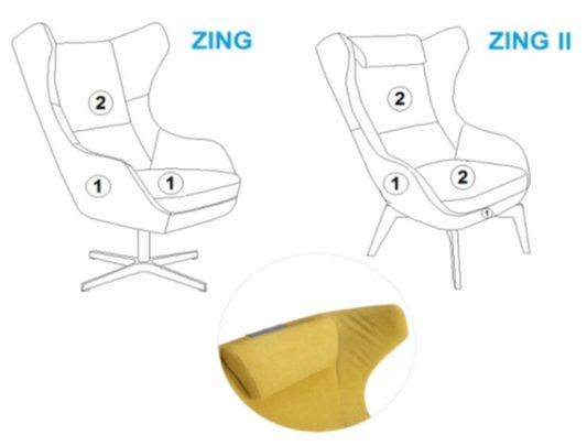 Кресло Zing фото 12