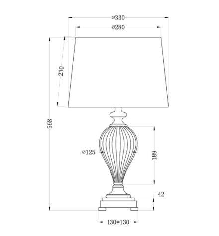 Лампа настольная 22-86892 фото 1
