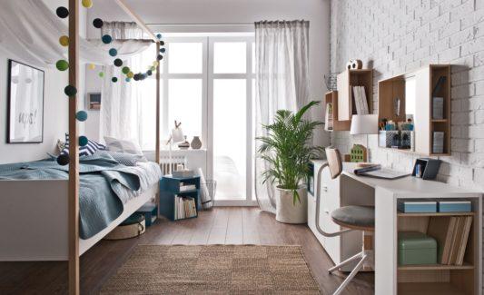 Кровать с балдахином 4 You 120*200 фото 6