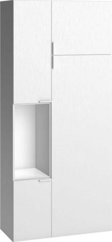 Шкаф 4 You 2-дверный с открытым отсеком фото 1
