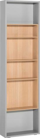 Боковой стеллаж для 4-дверного шкафа