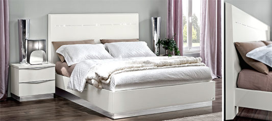 Кровать ONDA White Legno