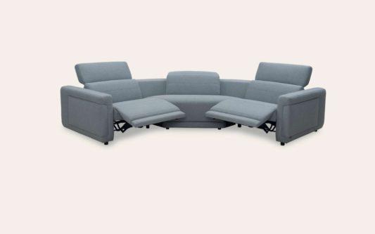 Модульный диван с реклайнерами Cadenza W167