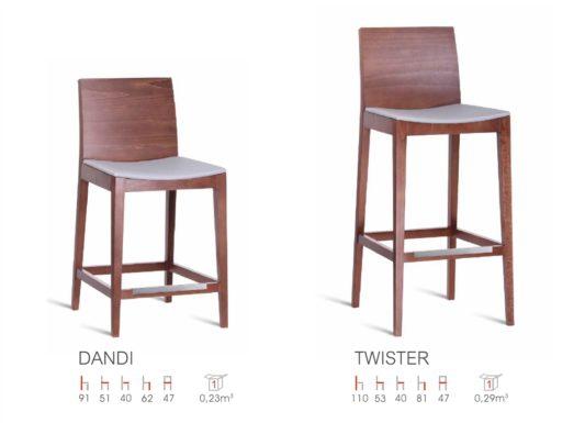 Полубарный стул Dandi фото 3