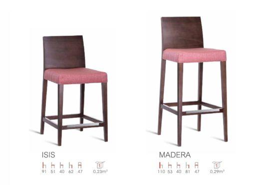 Полубарный стул Isis фото 2