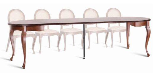 Круглый раздвижной стол WE-100 фото 1