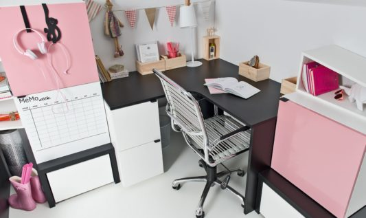 Угловой письменный стол Young Users фото 3