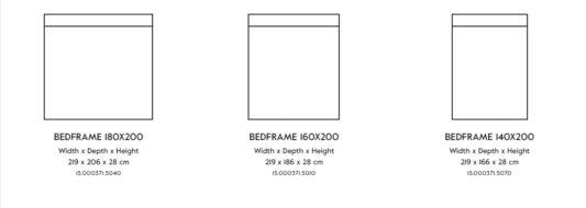 Кровать Blanc Bed фото 2