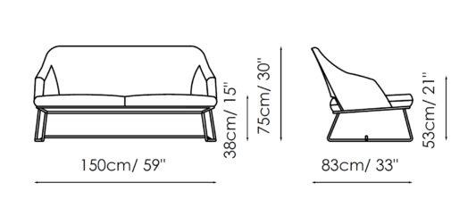 Диван Blazer Sofa фото 1