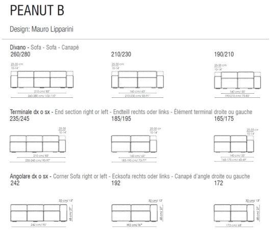 Модульный диван Peanut B фото 6