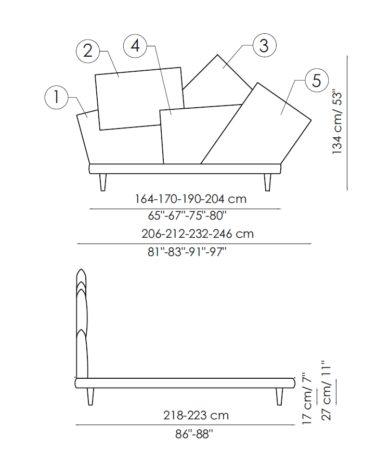Кровать Picabia фото 2