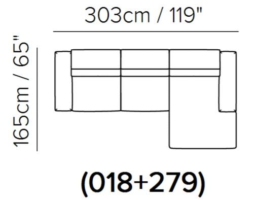 Угловой диван Borghese фото 3