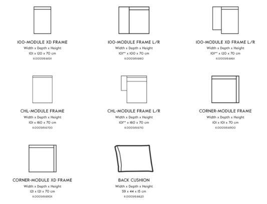 Модульный диван Box Mix фото 2