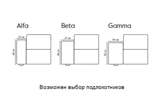 Модульный диван Box Mix фото 3