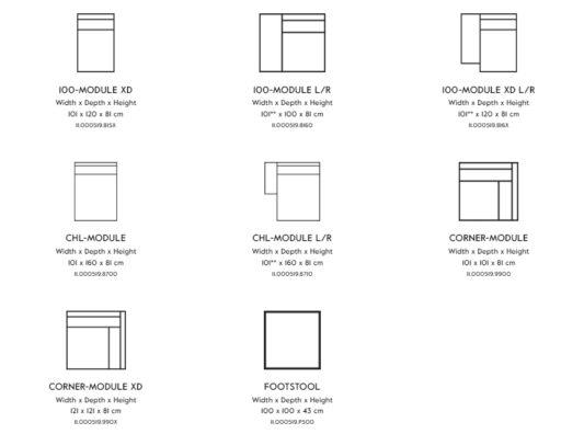Модульный диван Box фото 10