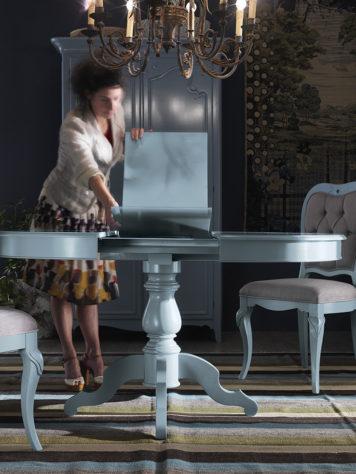 Круглый раздвижной стол Aix фото 3