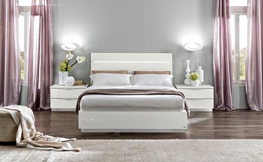 Кровать ONDA White Legno фото 1