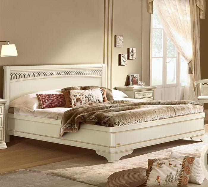 Кровать Torriani Tiziano Avorio