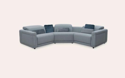 Модульный диван с реклайнерами Cadenza W167 фото 9