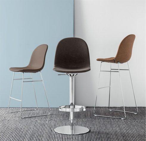 Барный регулируемый стул Academy фото 7
