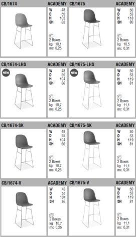 Барный стул Academy фото 10