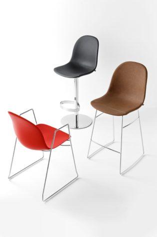 Барный регулируемый стул Academy фото 9