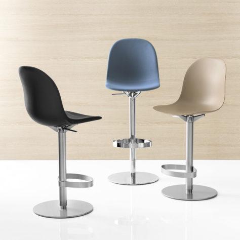 Барный регулируемый стул Academy фото 8