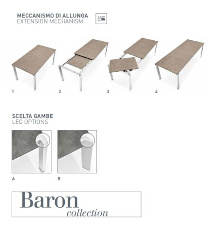 Стол Baron 130 фото 13