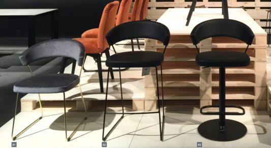 Барный регулируемый стул New York фото 13