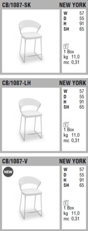 Полубарный стул New York фото 15