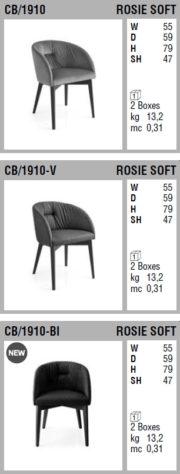 Стул Rosie Soft 1910 фото 8