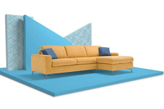 Угловой раскладной диван Lisbona