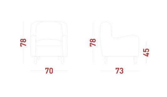 Кресло Byblos фото 2