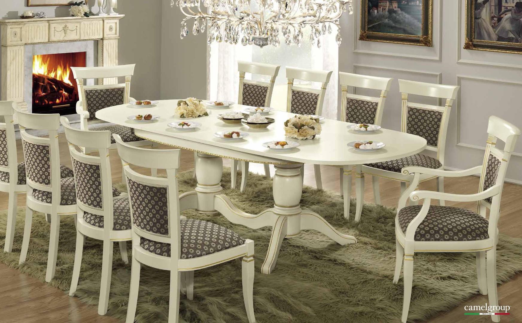Раскладной овальный стол Treviso
