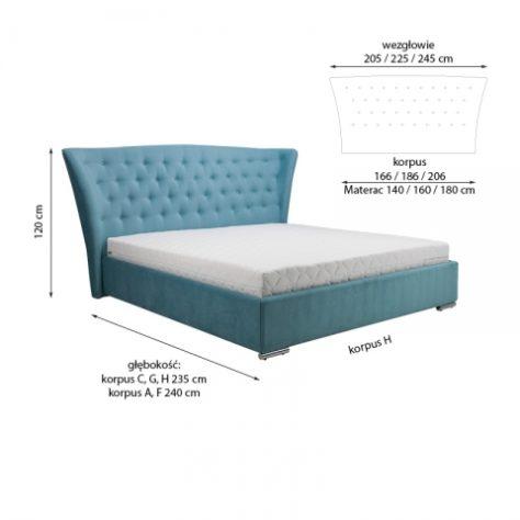 Кровать системы Mini Maxi 5100 140*200 с подъемным механизмом фото 1