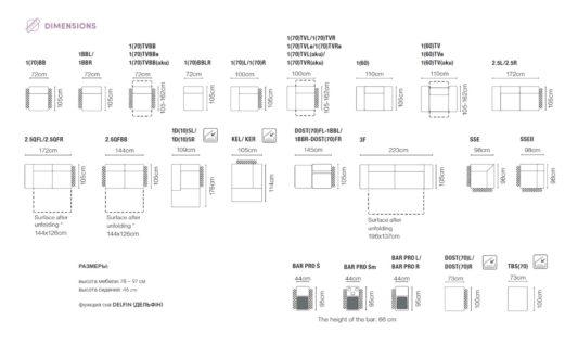 Система модулей Belluno фото 2