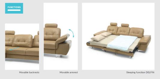 Угловой диван Move фото 2