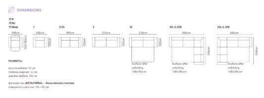 Угловой диван Re-lax фото 2